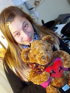 """Abbie & Anthony"" Bear"