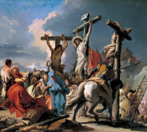 Christ on the Cross,  Giovanni Battista Tiepolo [Source: WikiMedia]